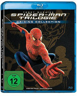 3 Blu-rays * SPIDER-MAN - TRILOGIE - ORIGINS COLLECTION # NEU OVP <