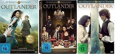 17 DVDs * OUTLANDER - SEASON / STAFFEL 1 + 2 + 3 IM SET # NEU OVP <