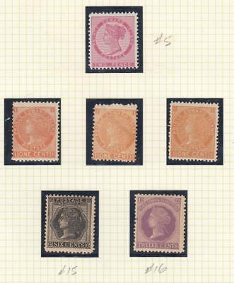 PRINCE EDWARD ISLANDS #s 5,11 x 3 15-16 MNH Q/VIC ISSUES CAT VALUE $118+