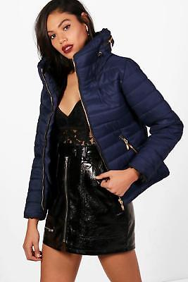 80d71487d72 BOOHOO WOMENS SARA Quilted Jacket - £26.25