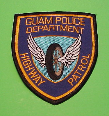 Guam  Highway Patrol  Police Patch   Free Shipping!!!
