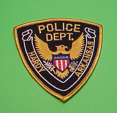 Hardy  Arkansas  Ar  Police Patch   ( New Condition )  Free Shipping!!!
