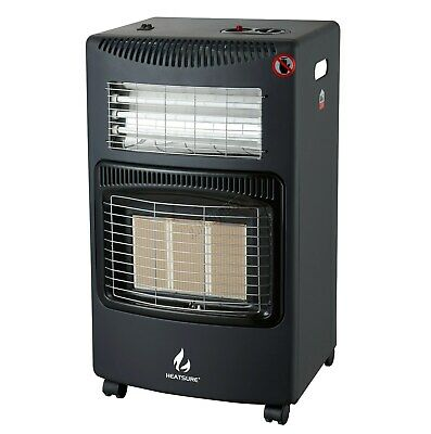 FoxHunter Portable Gas & Electric Combo Heater 4.2KW Regulator Hose Included