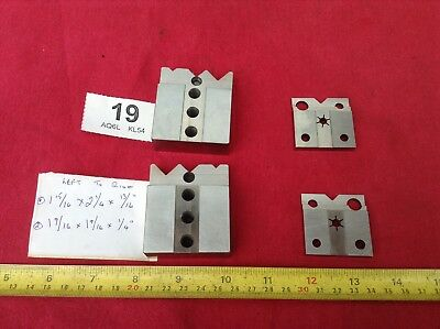 2 Pair of High Quality & Specialized V Vee Blocks in Superb Condition Unusual
