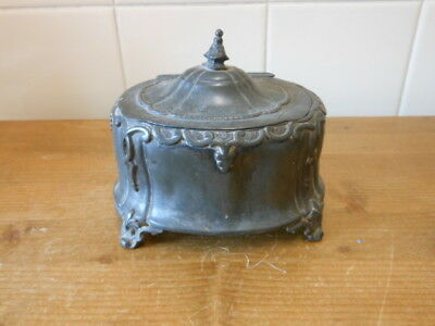 old pewter container,,,,,,,130