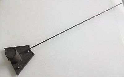 Vintage Wall Clock Single Chime Bar & Holder