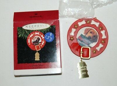 Lot 9-133 * Hallmark Keepsake Ornament Special Dog 1993 Photo Holder