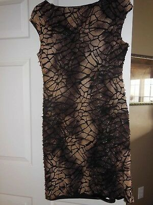 Cartise Leopard Print Dress Size 10