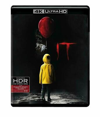It (4K Ultra HD Blu-ray, 2018) NEW