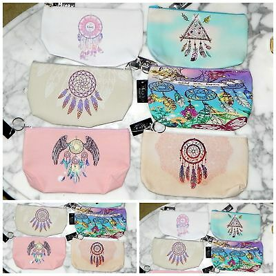 WHOLESALE Lot of 6 DREAM CATCHER COIN PURSE PENCIL CASE PARTY FAVORS NW INDIANA!