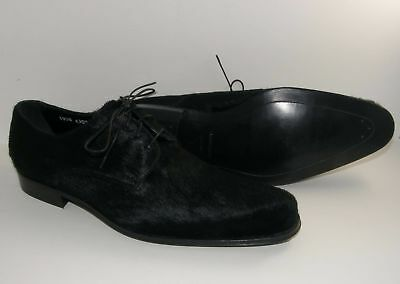 5527192f21 Dolce   Gabbana Party New  2400 made ITALY Calf Hair Leather US 10 Black  Shoes