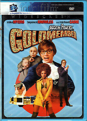 AUSTIN POWERS in GOLDMEMBER The MOVIE on a DVD with MIKE MYERS & BEYONCE KNOWLES