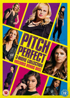 Pitch Perfect: 3-movie Collection DVD (2018) Anna Kendrick