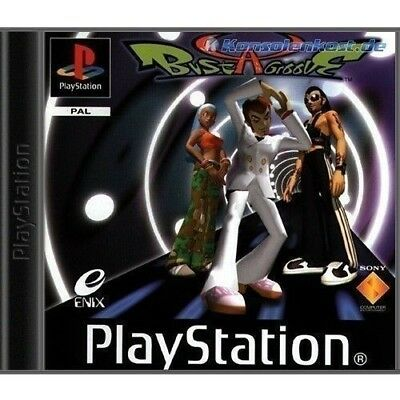PS1 / Sony Playstation 1 Spiel - Bust-A-Groove mit OVP sehr guter Zustand