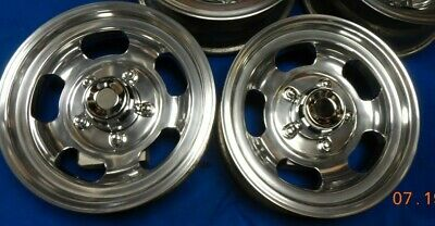 """SET VINTAGE 15"""" SHELBY SLOT MAG WHEELS FORD BRONCO TRUCK 70's VAN JEEP MAGS 150"""