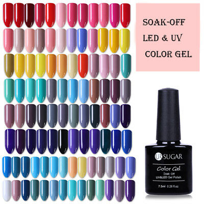 UR SUGAR 7.5ml Gel Semipermanente Nudo Smalto Nail Art Soak Off UV Gel Polish