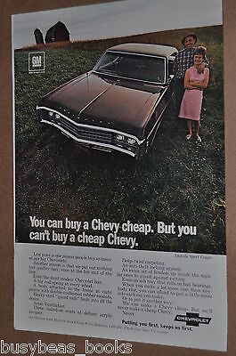 1969 CHEVROLET advertisement, Chevrolet Impala Sport Coupe, Chevy