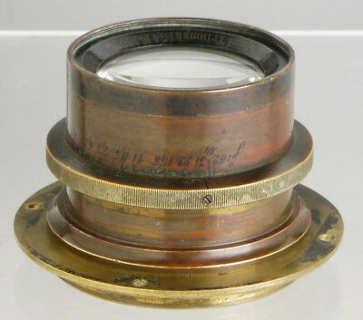 rare Schönewolf Triumph ___ antique German brass lens f/wood Plate Field cameras