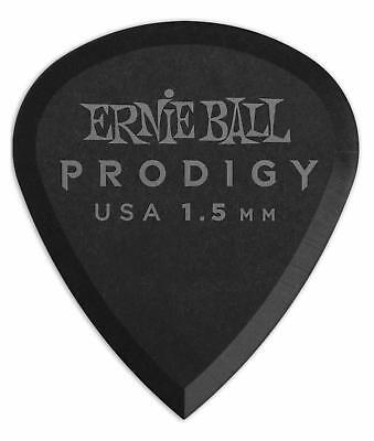 Ernie Ball 9200 Prodigy Mini Plektrum 1,5mm 6er Pack Guitar Delrin Schwarz