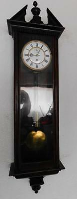 single weight vienna wall clock