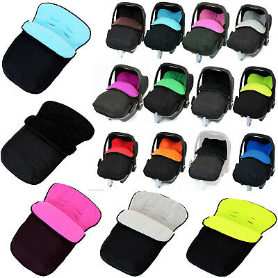 Universal Snug & Cosy Car Seat Cosy Toes Footmuff X11 Colors Available