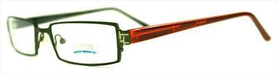 13x Brille Collection Creativ Brillengestell Mod 1076 Col 860 rotbraun/grünmetal