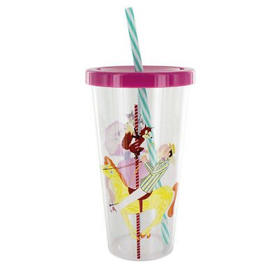 Disney Mary Poppins Classic Tumbler Cup and Straw