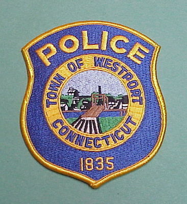 Westport Connecticut  1835  Ct  Police Patch  Nice!   Free Shipping!!!