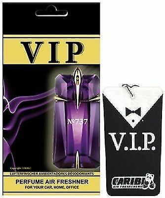 "737 Air Freshener Car Caribi VIP Parfume Home Office - Thierry Mugler ""Alien"""