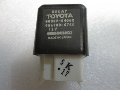 Genuine Toyota RUNNING LIGHTS Relay 90987-04002-83