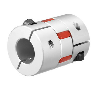 Shaft Coupling 16mm to 20mm Bore L55xD40 Flexible Coupler Joint for Servo Motor