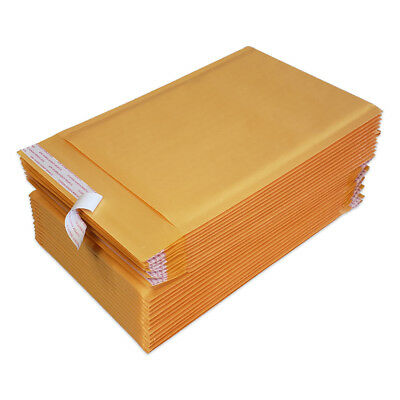 25 #0 6x10 Kraft Bubble Mailers Padded Envelopes Bags