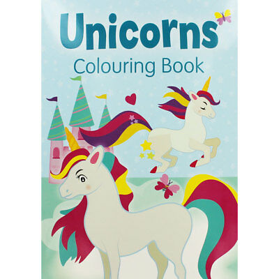 Unicorns Colouring Book (PaperbackPaperback), Children's Books, Brand New