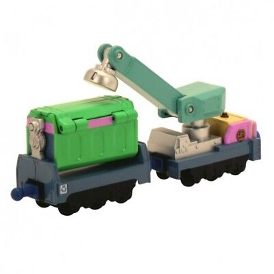 Kran- & Recyclingwagen | Lokomotive | Zug | Tomy 54015 | Die Cast | Chuggington