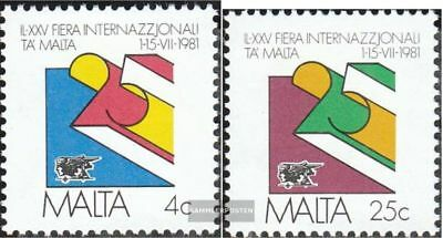 Malta 630-631 (complete.issue.) unmounted mint / never hinged 1981 Fair