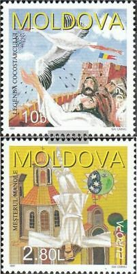 Moldawien 236-237 (complete.issue.) unmounted mint / never hinged 1997 Say