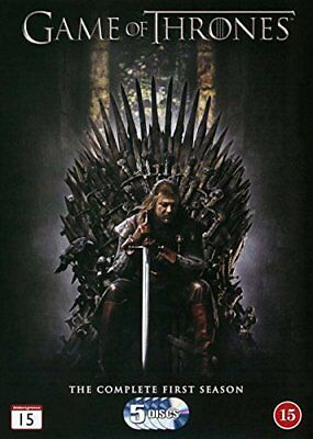Game of Thrones Season 1 DVD -  CD 62VG The Fast Free Shipping