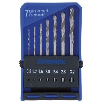 Dremel 2615062832 628 Precision Drill Bit Set - 7 Piece