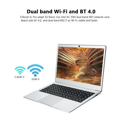 "6GB+64GB JUMPER EZbook 3L Pro 14"" HDMI Windows10 Intel Apollo Lake N3450 2*Band"