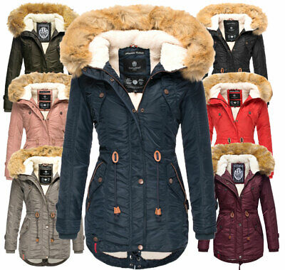 NAVAHOO DAMEN WINTERJACKE winter Mantel winter parka warm