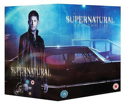 Supernatural Complete Season 1 2 3 4 5 6 7 8 9 10 11 12 13 Dvd Box Set R4 Dent