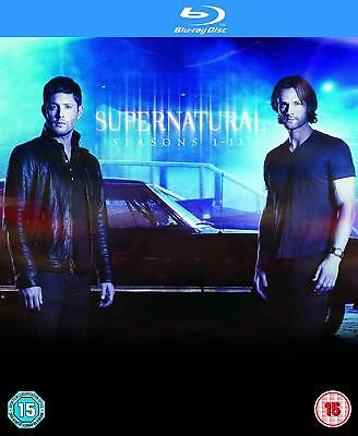 Supernatural Complete Season 1 2 3 4 5 6 7 8 9 10 11 12 13 Blu Ray Box Set Rb