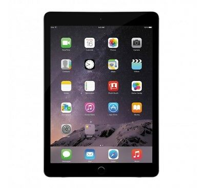 "Apple iPad Air 2 16GB, 64GB, 128GB 9.7"" Retina Display Wifi Tablet - Space Gray"