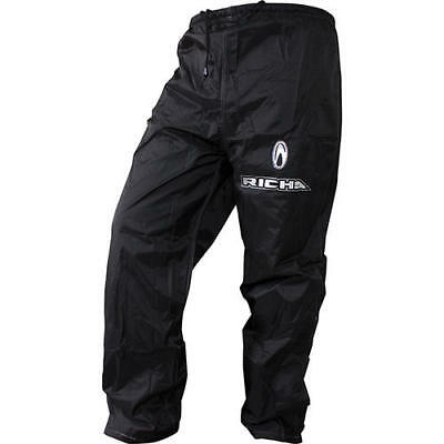 Richa Motorcycle Bike Rain Wear Rain Warrior Trousers Black All Sizes