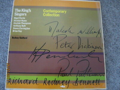 THE KING'S SINGERS - CONTEMPORARY COLLECTION - LP - 1975 - Germany  AVES 161513