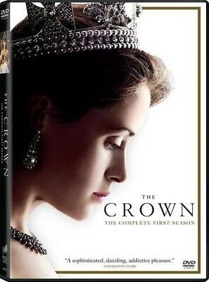 The Crown: Season One (DVD, 2017, 4-Disc Set) NEW