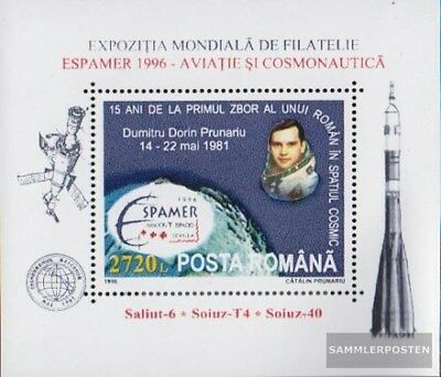 Romania block299 (complete.issue.) unmounted mint / never hinged 1996 Briefmarke
