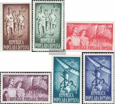 Romania 1171-1176 (complete.issue.) unmounted mint / never hinged 1948 Volksspor