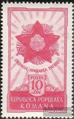 Romania 1275 (complete.issue.) unmounted mint / never hinged 1951 Orthes the Def
