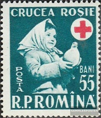 Romania 1665 (complete.issue.) unmounted mint / never hinged 1957 Red Cross